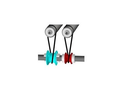 Black 88A Urethane Belt on Speedup Spool