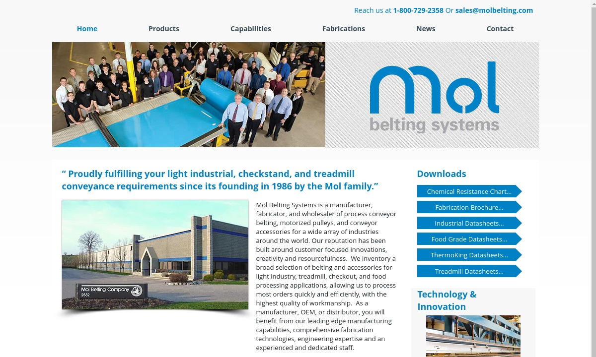 Mol Belting Systems