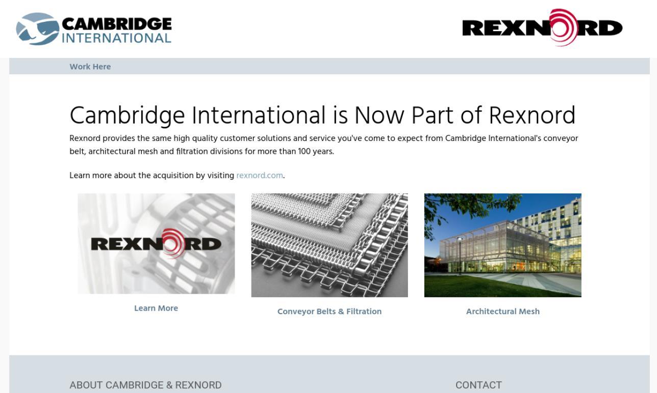 Cambridge International, Inc.