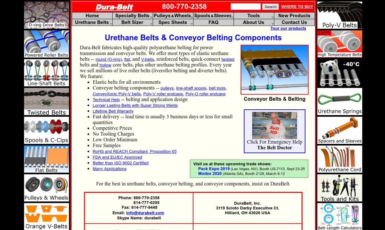 Dura-Belt, Inc.