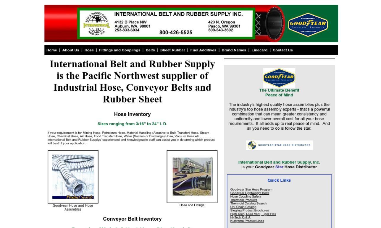 International Belt & Rubber Supply, Inc.