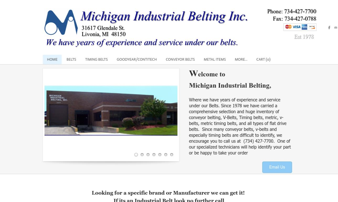 Michigan Industrial Belting, Inc.