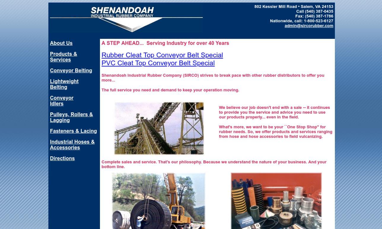 Shenandoah Industrial Rubber Company