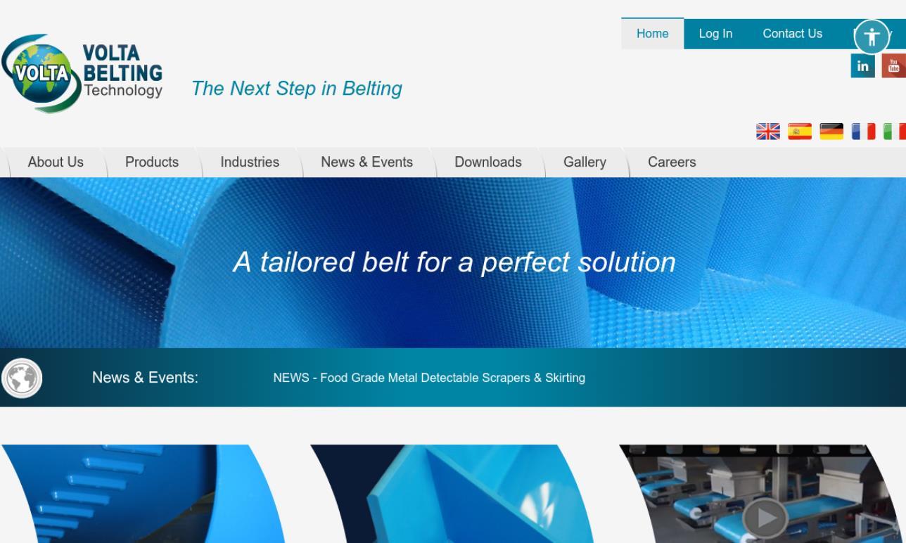 Volta Belting Technology Ltd