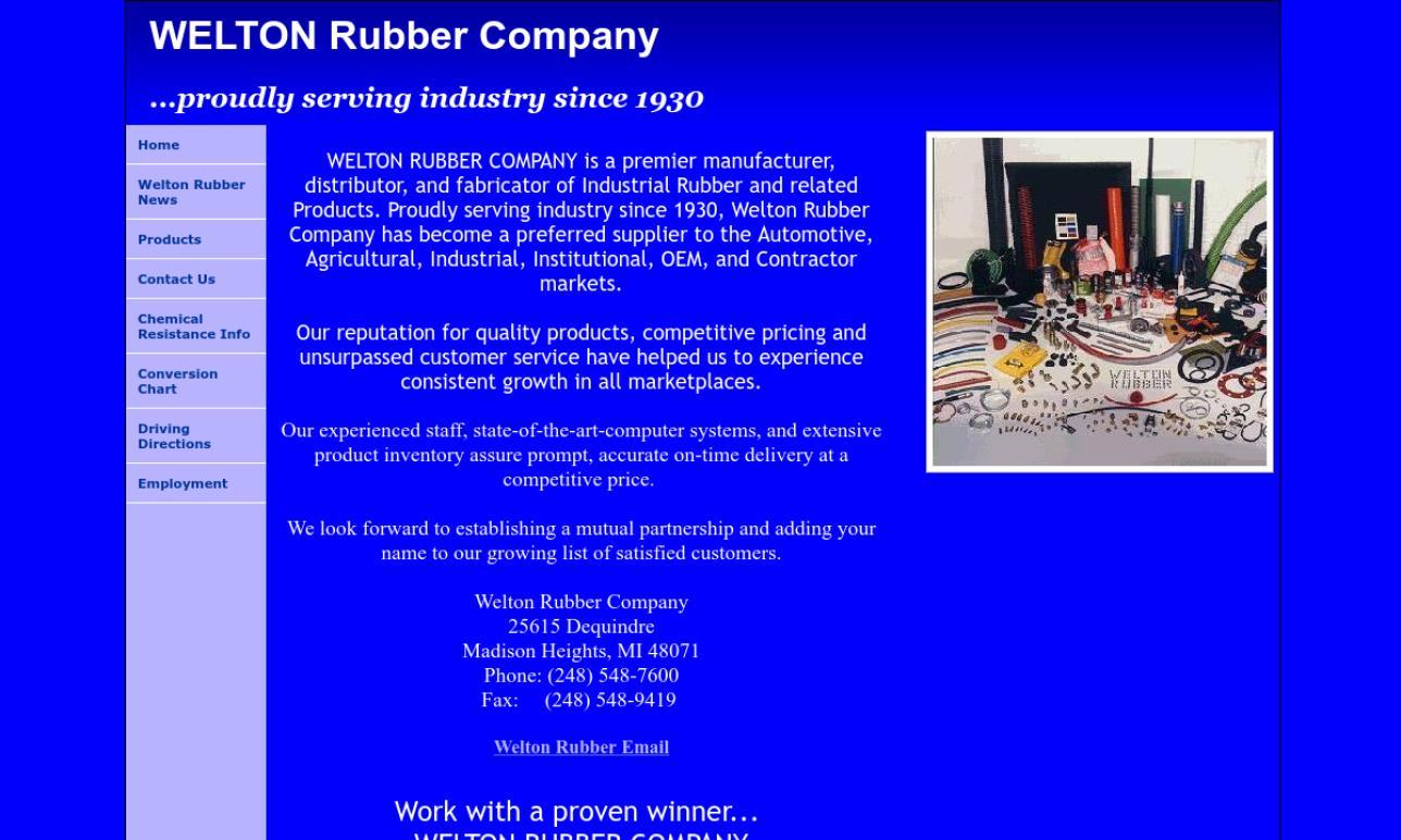 Welton Rubber Company