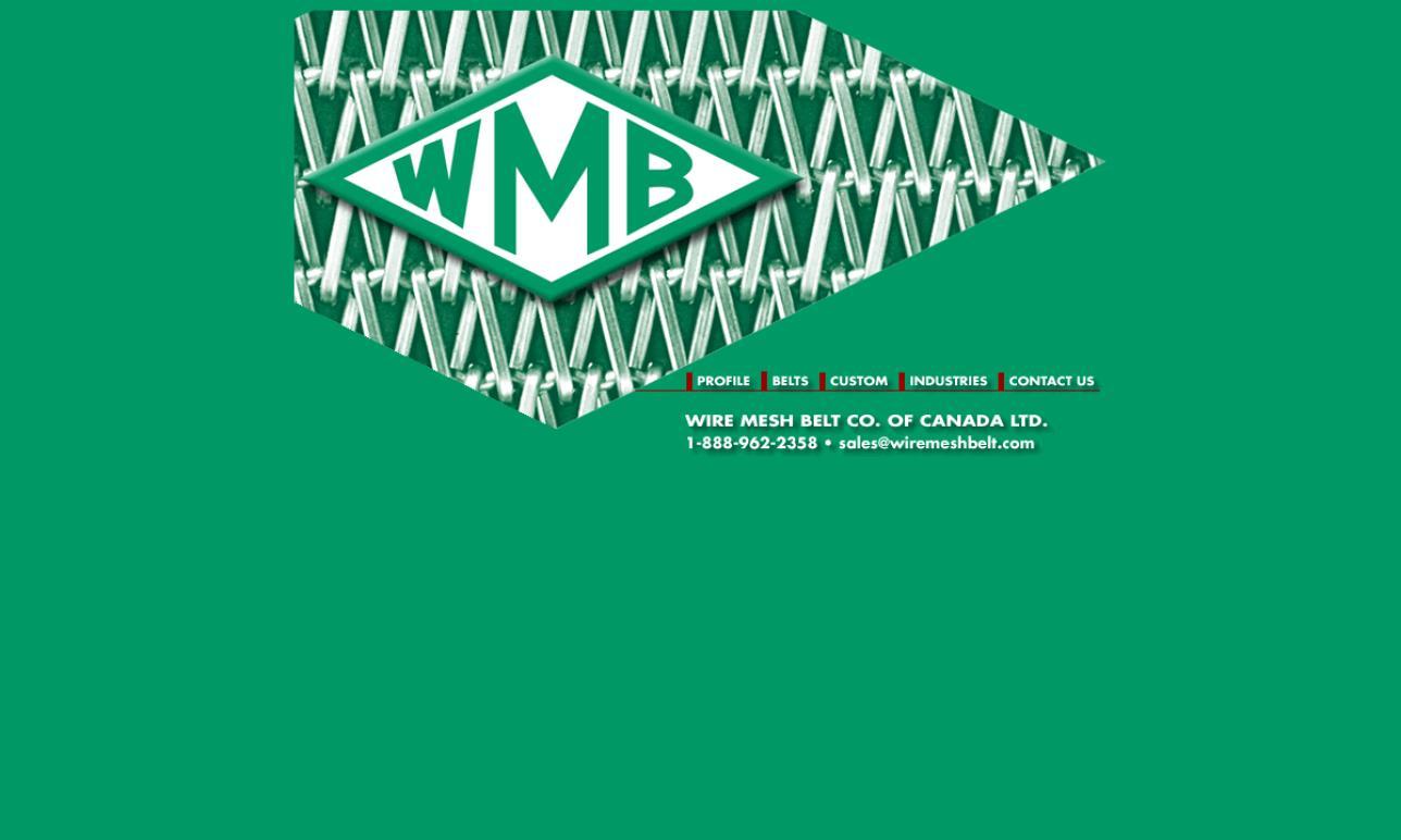 Wire Mesh Belt Co. of Canada Ltd.